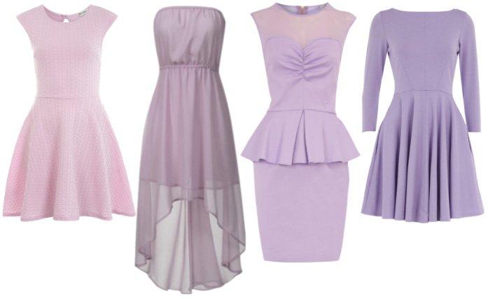 Feminine Lilac – 4 Chic Dresses Under $65