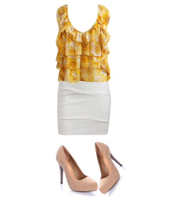 Daily Look - Dressy Ruffle Outfit for $100 5