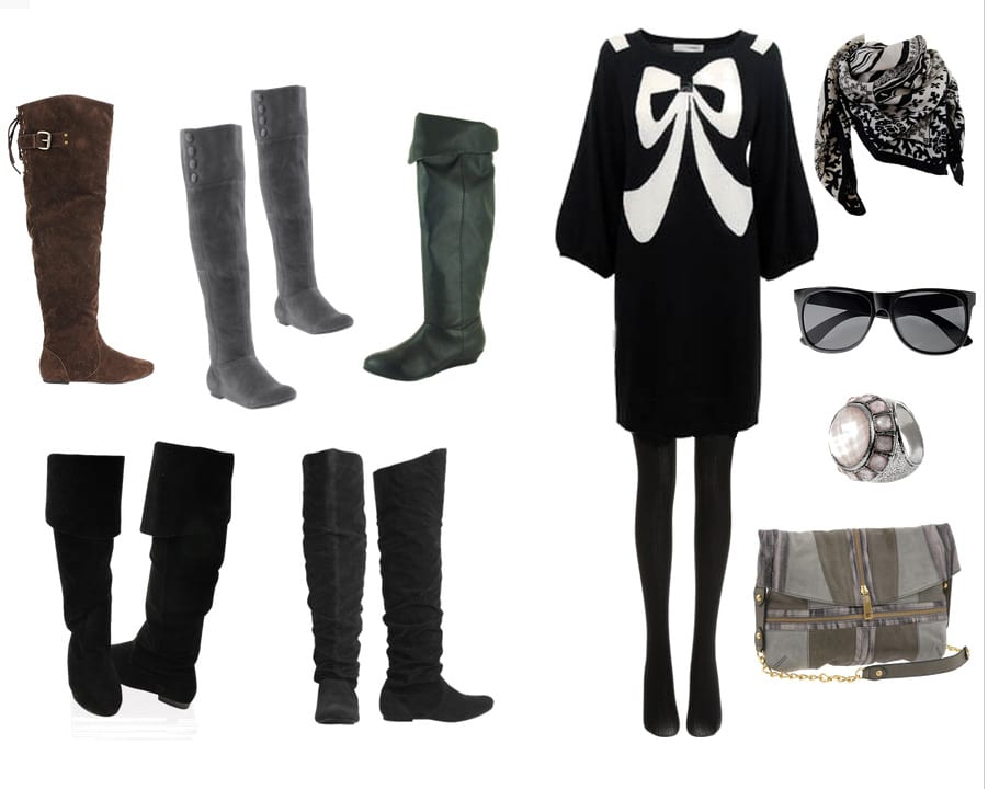 Shopping Time: Over-the-Knee Boots Under $50! 10