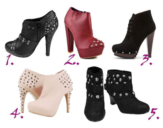 Shopping Time: Studded Booties Under $50! 17