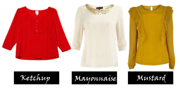 3 Office Blouses Under $50: Ketchup, Mayonnaise and Mustard 3