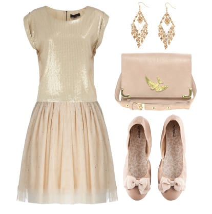 Daily Look Under $100: Beige and Pale Pink from Head to Toe 16