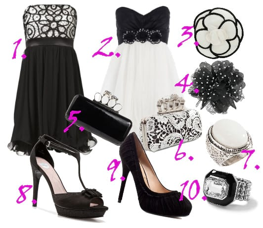 Classy Prom Queen: Black and White Prom Picks Under $60! 3