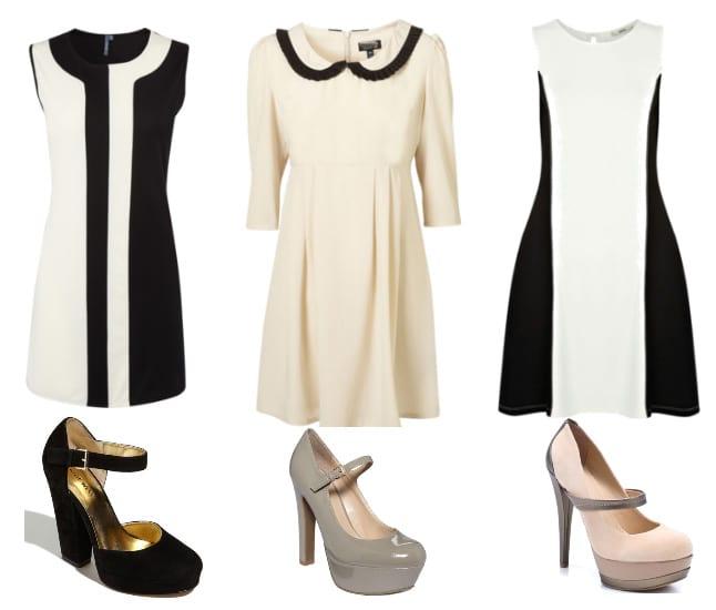 Black & White Retro Dresses on a Budget 2