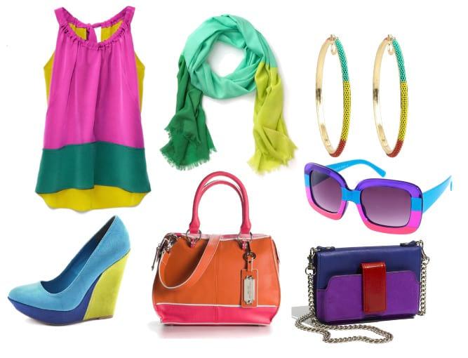 Colors Aloud! Vibrant Color-Block Picks Under $100 12