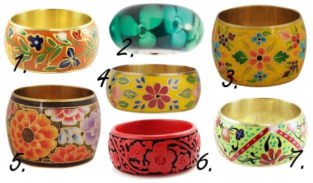 Springtime Flare: Color-Loaded Floral Bangles 2