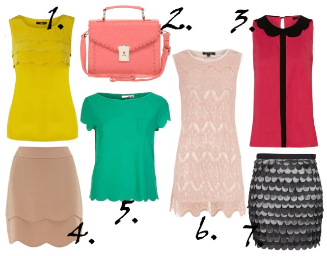 Trend Alert: Scallop Edges - 7 Feminine Picks Under $75 2