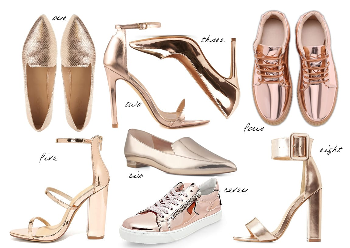 8 Rose Gold Flats & Heels Under $50 7
