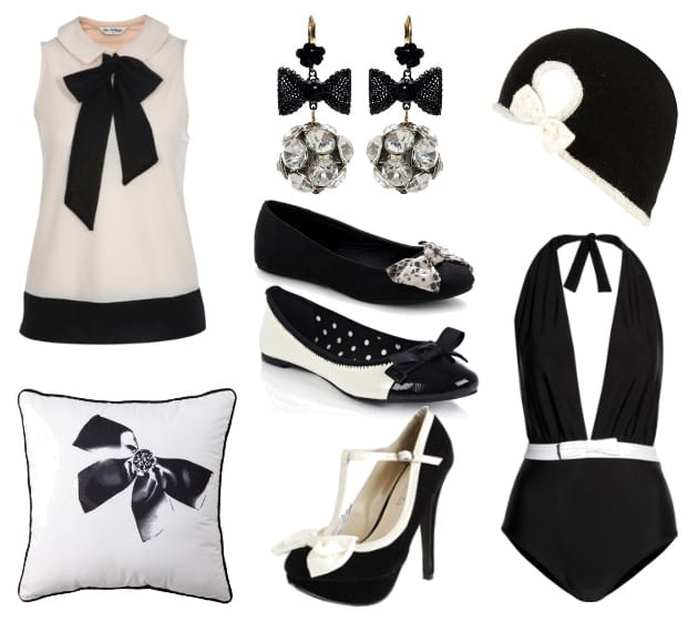 Trend Alert: 8 Black and White Bow Picks and How to Wear Them 2