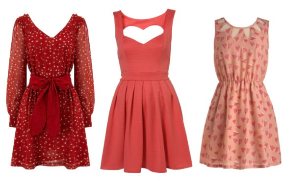 3 Great Picks for the Queen of Hearts: Rose & Red Heart Dresses 2
