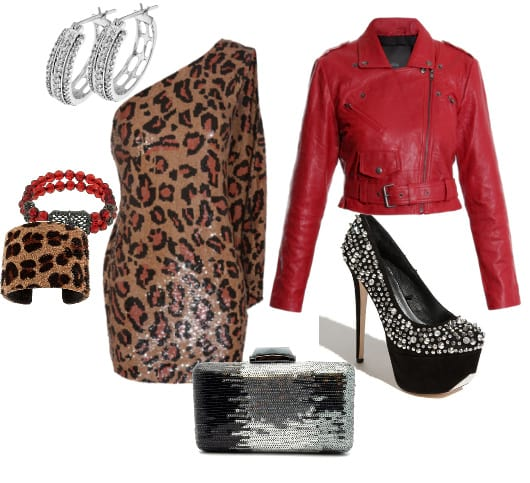 How to Combine Red with Leopard Without Looking Tacky 12