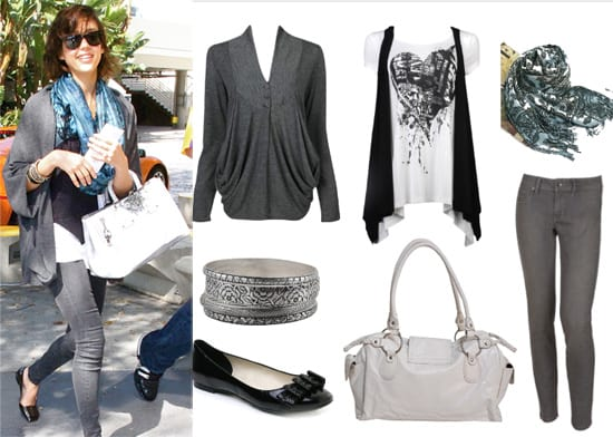 Get Her Style: Jessica Alba's 7-Piece Look for Less Than $200! 3