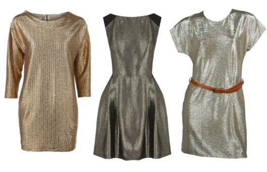 Shopping on a Budget: Metallic Dresses Under $50 4