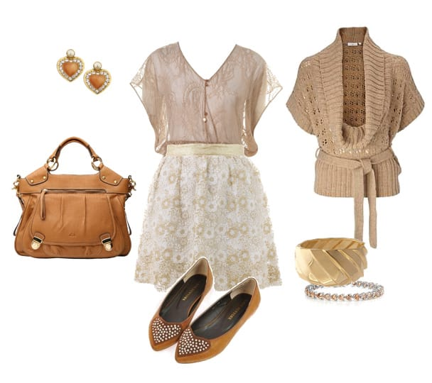 Trend Alert: Neutrals From Head To Toe 6