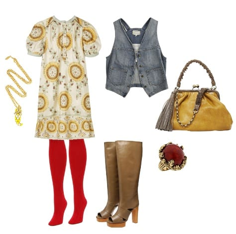 How to Wear Colorful Tights + 2 Fun Outfits 1