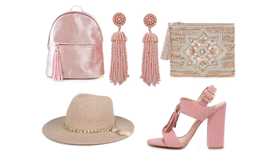 5 Valentine's Day-Ready Petal Pink Tassel Gifts Under $50 46