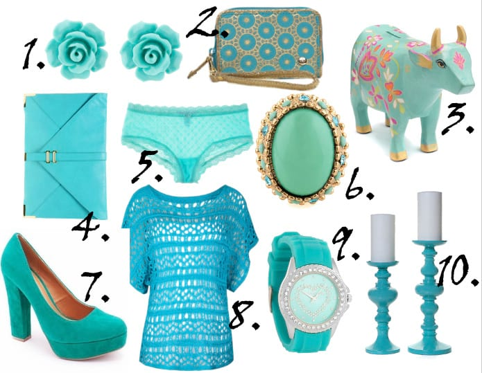 Color of the Week: Turquoise - 10 Picks Under $40! 9