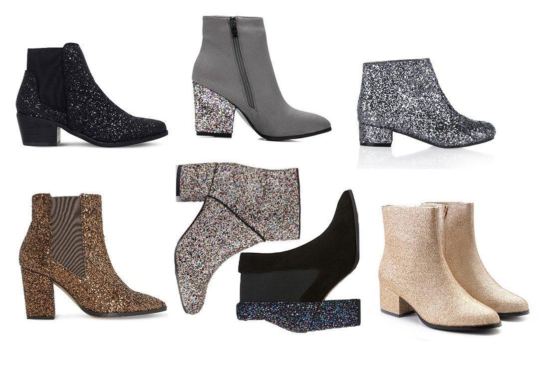 7 Sparkly Glitter Boots Under $100 2