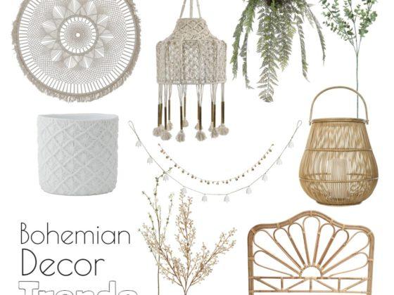 bohemian decor trend